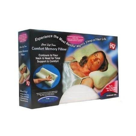 Almohadas ortopédicas memory pillow