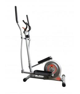 Bici elíptica con dos ruedas de inercia
