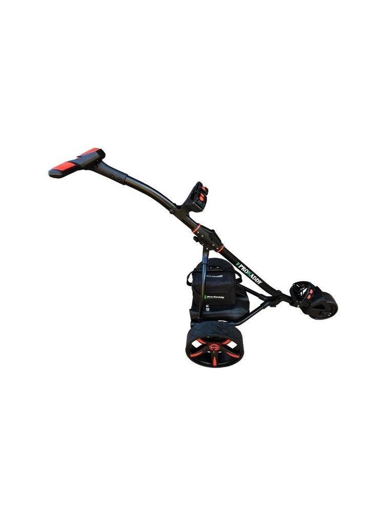 Carro  eléctrico de golf  Pro Kaddy  Modelo  S1T2 Negro