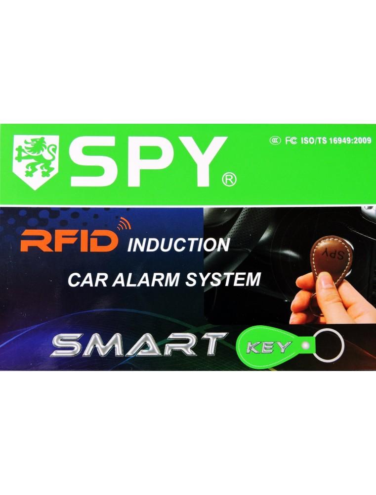 Alarma de coche RFID (radio frecuencia identificación) Marca Spy modelo RFID900