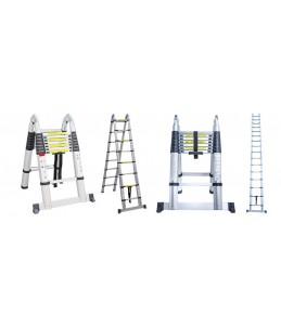 Escalera telescópica 5.60 mtrs A-Type marca Pro-Steps