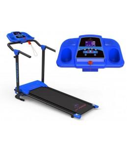 Cinta de correr plegable 1200W con 12 programas Mp3 + 2 altavoces velocidad 0-10km