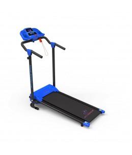 Cinta de correr plegable 1200W 3 programas Mp3 + 2 altavoces velocidad 0-10km