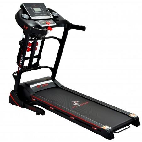 Cinta de correr plegable 2000W con masajeador,USB, altavoces y auto inclinación