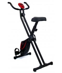 Bicicleta estática Fit-Force regulable plegable 8 niveles de resistencia 16KG