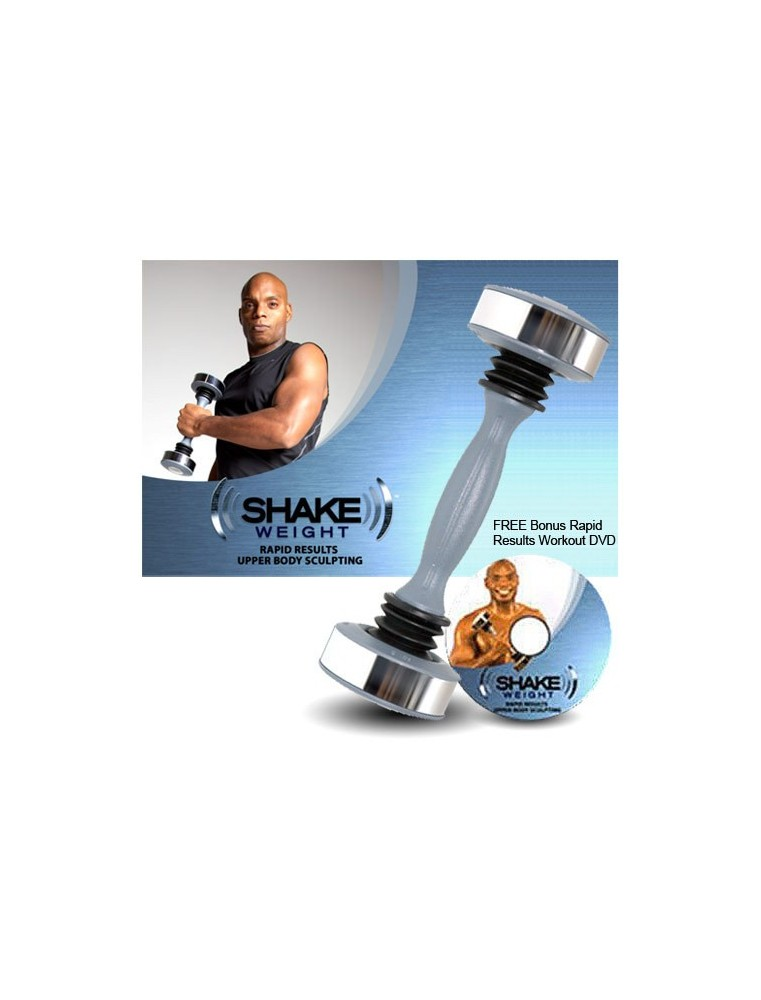 Mancuerna Shake Weight para hombres