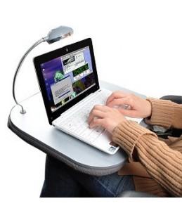 Bandeja para ordenador portátil.